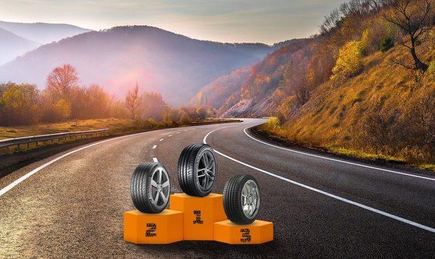 podio migliori pneumatici estivi 2021